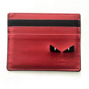 Fendi Unisex Leather Cardholder Like New